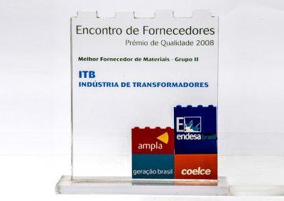 Melhor Fornecedor de Materiais (2008)