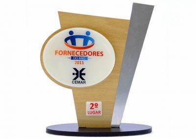 2º Lugar - Fornecedores do Ano CEMAR (2011)