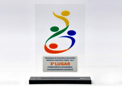 3º Lugar - Programa de Excelência em Gestão Fornecedores Cemar (2012)