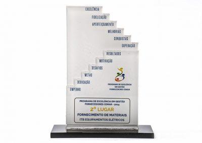 2º Lugar - Programa de Excelência em Gestão Fornecedores Cemar (2014)