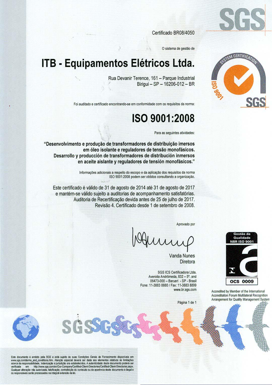 certificate-iso-9001-itb-transformers