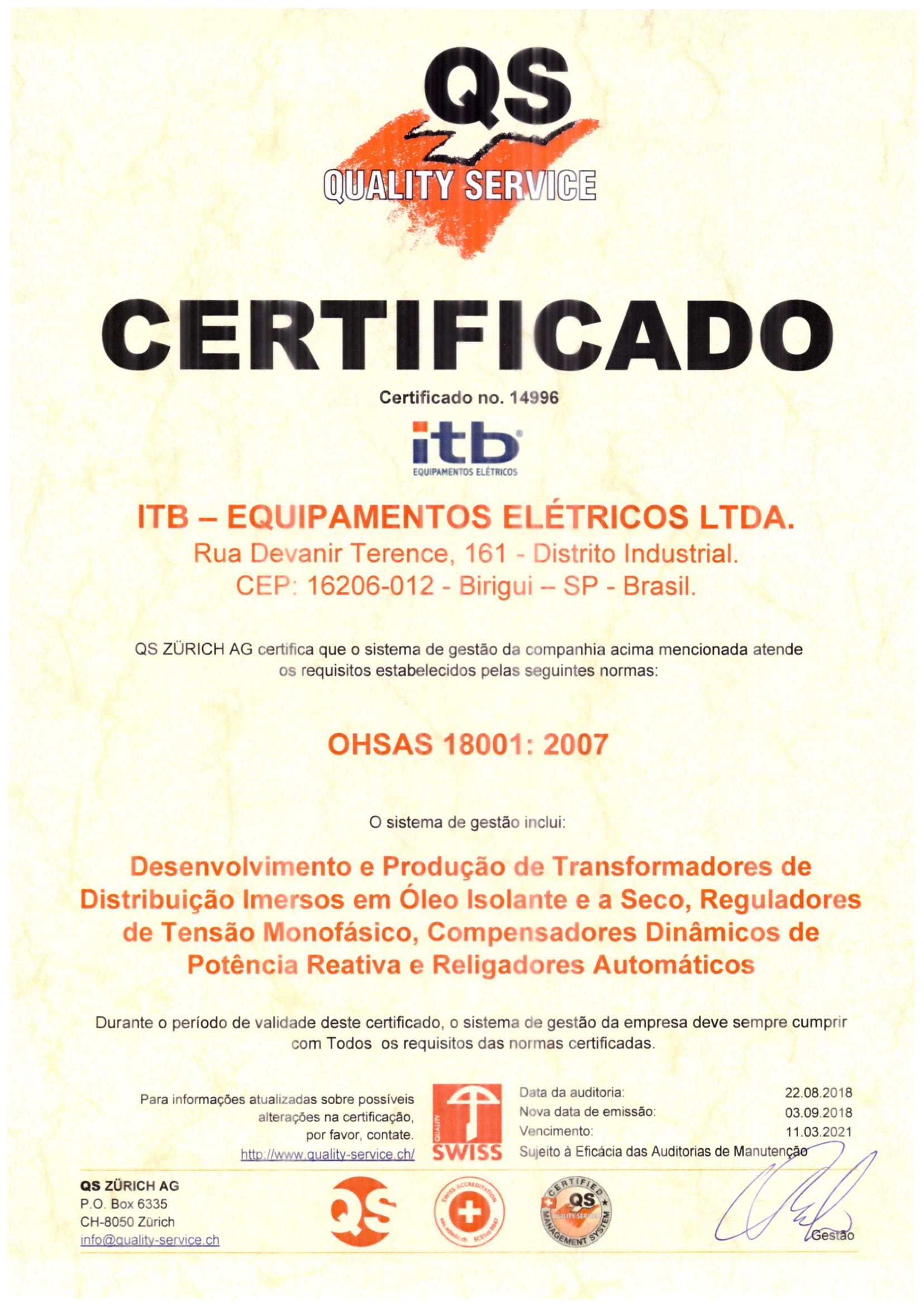 cetificate-ohsas-18001-itb-transformers