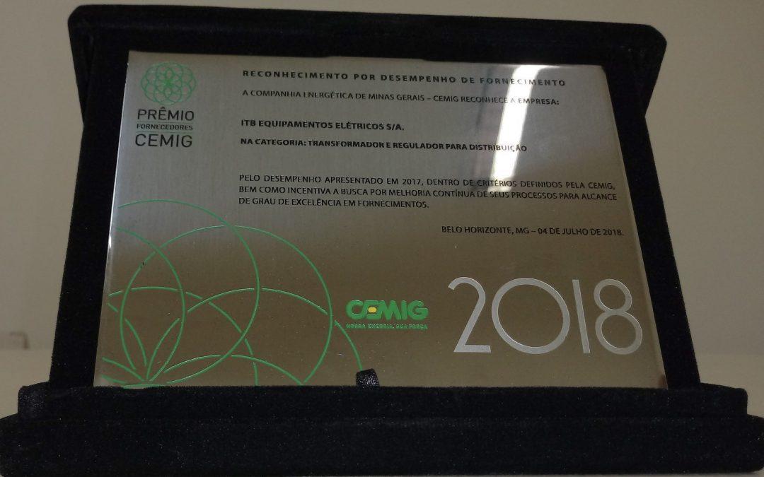 Prêmio Fornecedores CEMIG